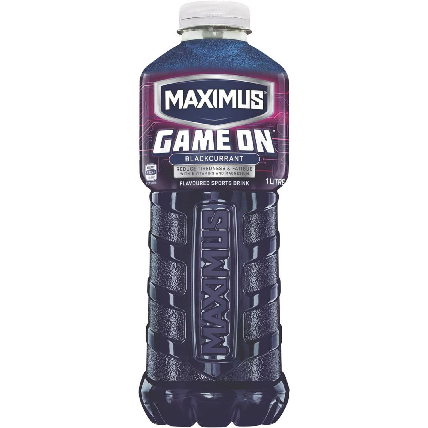 Maximus Game On Blackcurrant, 1 Litre