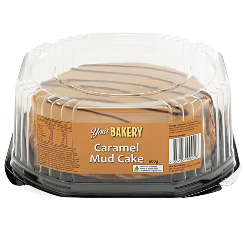 Your Bakery Caramel Mud Cake, 600 Gram