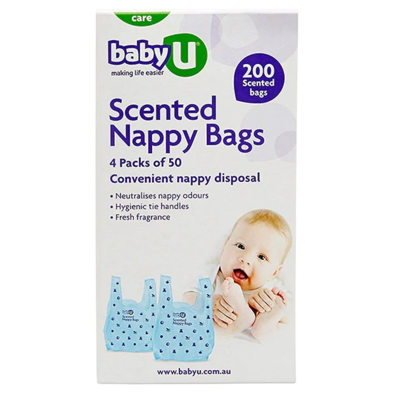 Baby U Nappy Sacks, 200 Each