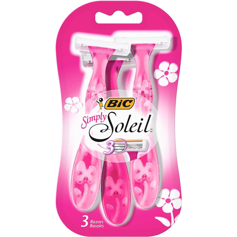 BIC Soleil Disposable Razor Simply, 3 Each