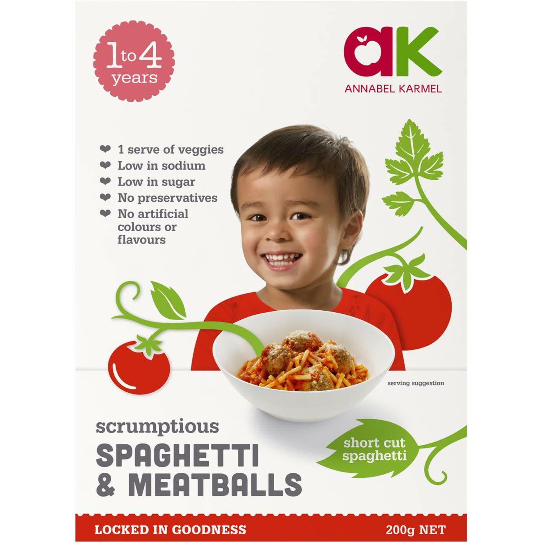 Annabel Karmel Spaghetti & Meatballs, 200 Gram