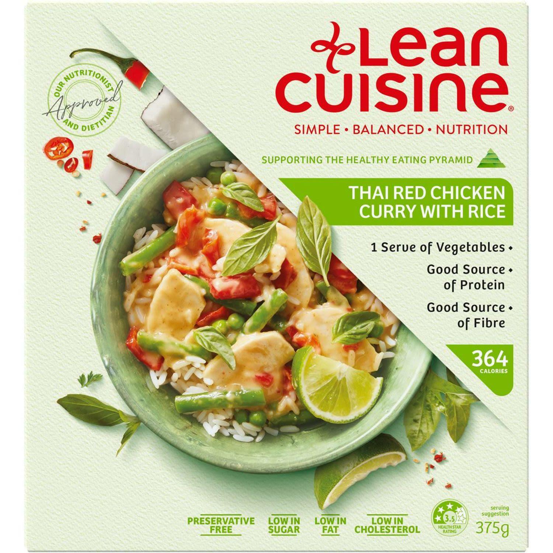 Lean Cuisine Chicken Thai Red Curry, 375 Gram