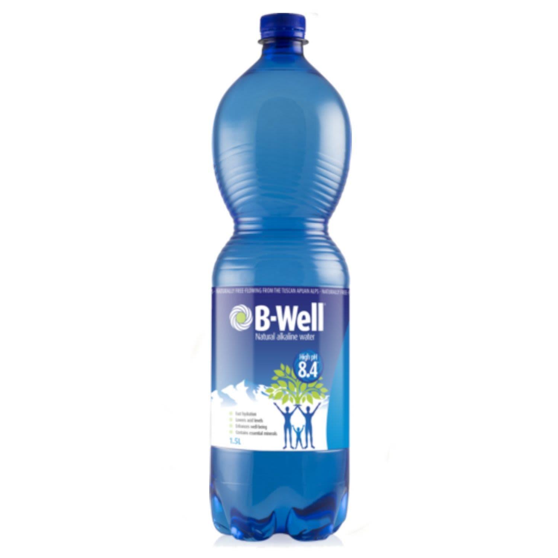 B-Well Water Natural Alkaline, 1.5 Litre