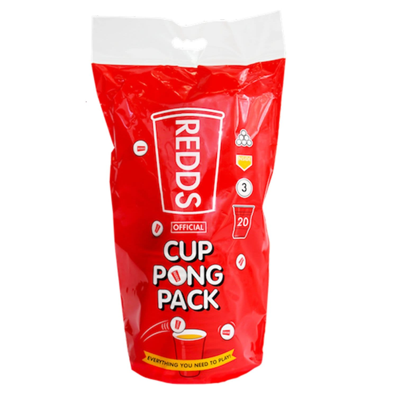 Redds Pong Cups, 20 Each
