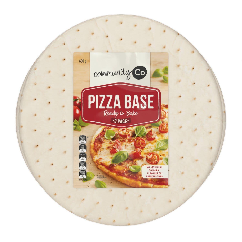 Community Co Pizza Bases, 2 Each