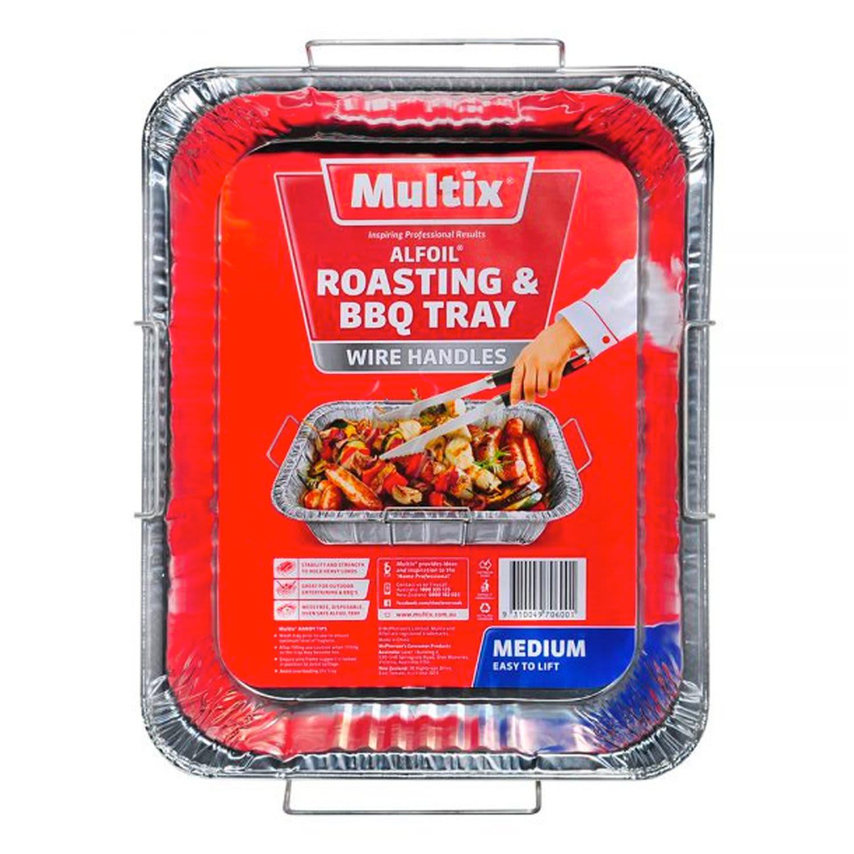 Multix Medium Size Roasting & BBQ Alfoil Tray, 1 Each