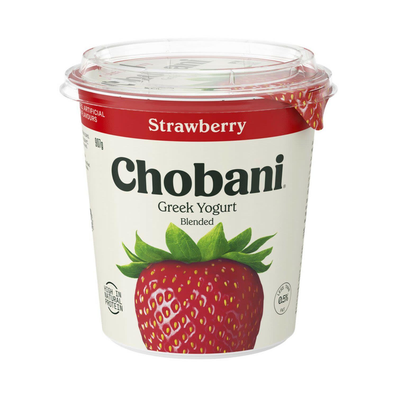 Chobani Greek Yogurt Strawberry, 907 Gram