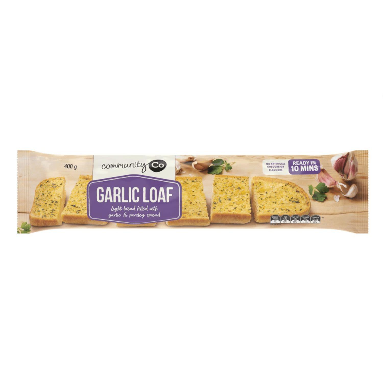 Community Co Garlic Loaf, 400 Gram
