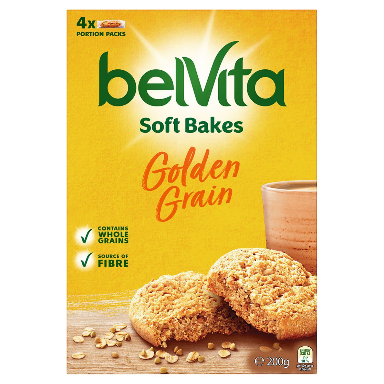 Belvita Soft Bakes Golden Grain Biscuits, 200 Gram