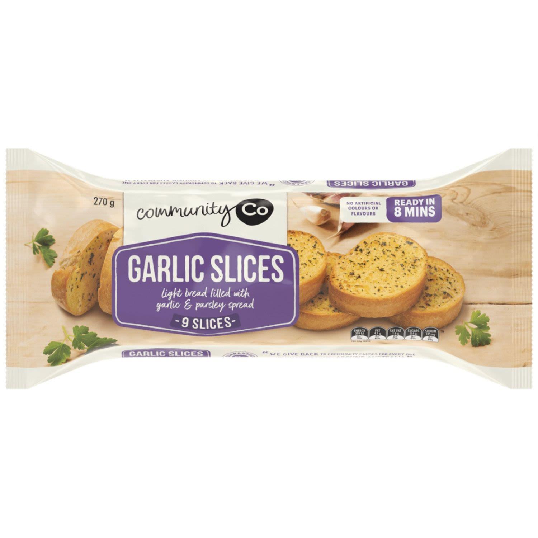 Community Co Garlic Bread, 270 Gram