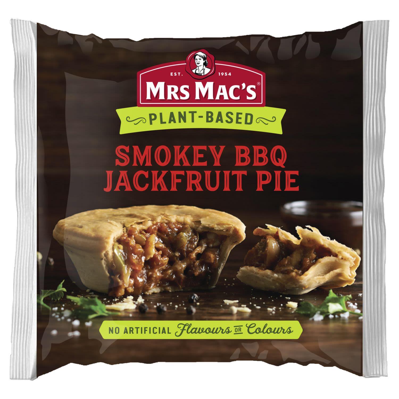 Mrs Mac's Plant-Based Smokey BBQ Jackfruit Pie, 175 Gram
