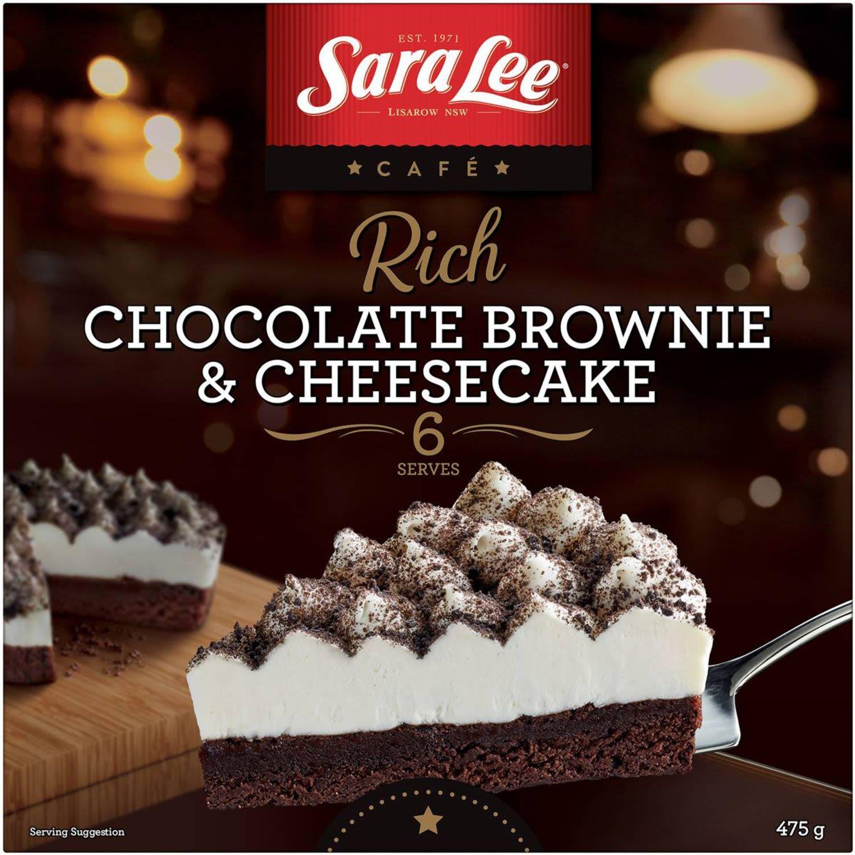 Sara Lee Brownie & Cheesecake, 475 Gram