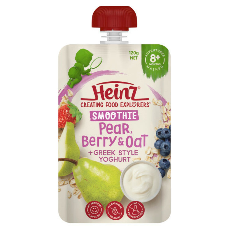 Heinz Berry & Oats Smoothie With Greek Yoghurt, 120 Gram