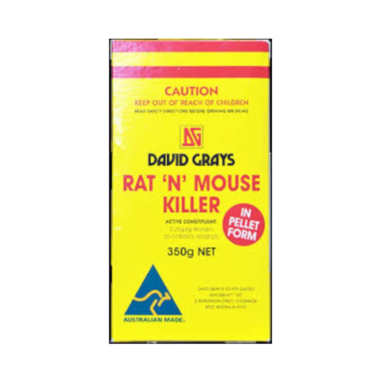 David Grays Mouse & Rat Killing Pellets, 375 Gram